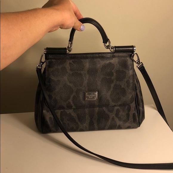 8a549236c233 Dolce   Gabbana Handbags - Dolce Gabbana Sicily Bag Medium Leopard
